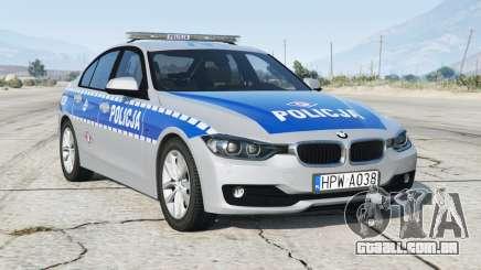 BMW 330i (F30) 2012〡Polh Police [ELS] add-on para GTA 5