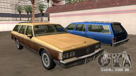 Oldsmobile Custom Cruiser 1980 Wooden body para GTA San Andreas