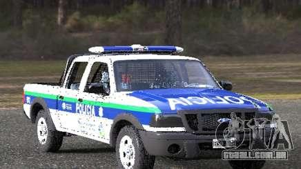 Ford Ranger 2008 Polícia Bonaerense para GTA San Andreas