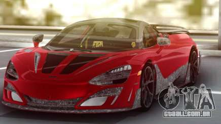McLaren 720S Mansory para GTA San Andreas