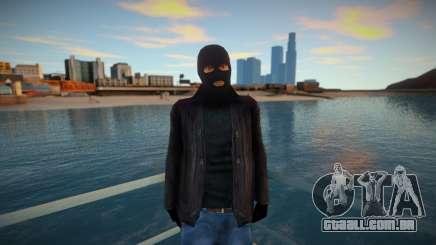 Bandido mascarado e de couro para GTA San Andreas