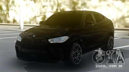 BMW X6M Competition 2020 para GTA San Andreas