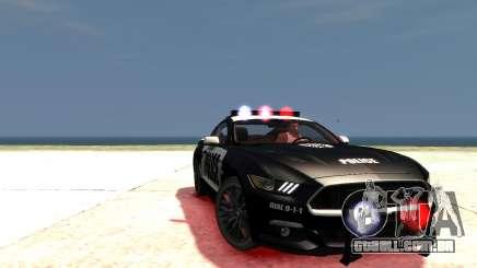 2015 Ford Mustang GT Police (UpdateV2.1) para GTA 4