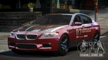 BMW M5 F10 PSI-R S7 para GTA 4