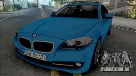 BMW 535i F10 2011 para GTA San Andreas