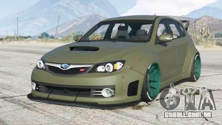 Subaru Impreza WRX STI Widebody (GRB) 2008〡add-on para GTA 5
