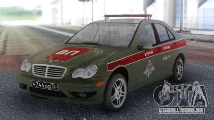 Polícia Militar Classe Mercedes-Benz C para GTA San Andreas