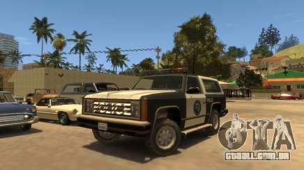 Police Rancher SA para GTA 4
