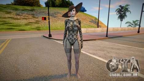 Alcina Dimitrescu LaceSuit para GTA San Andreas