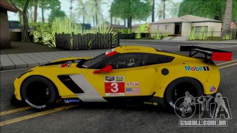 Chevrolet Corvette C7.R [Fixed] para GTA San Andreas