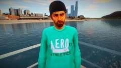 O cara de jaqueta verde para GTA San Andreas