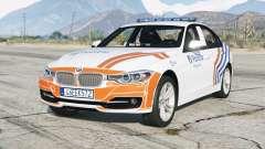 BMW 335i sedan Sport Line (F30) 2013〡Wegpolitie [ELS] para GTA 5