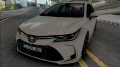Toyota Corolla 2020 Hybrid para GTA San Andreas
