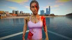 Girl - zumbis do jogo Resident Evil para GTA San Andreas