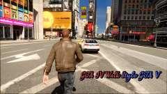 GTA IV Walk Style GTA V para GTA 4