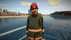 Novo Bombeiro San Fierro para GTA San Andreas