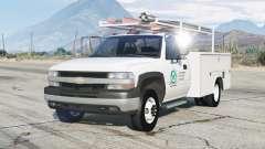 Chevrolet Silverado 1999〡Utilidade Truck para GTA 5