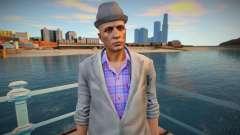 Cara de jaqueta cinza da GTA Online para GTA San Andreas