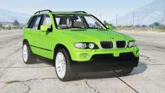 BMW X5 4.8is (E53) V1.1〡 2005 para GTA 5