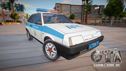 Polícia vaz 2108 KK (DPS) para GTA San Andreas