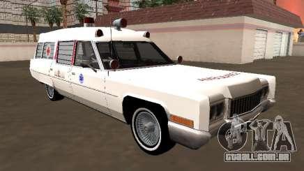 Cadillac Fleetwood Wagon 1970 Ambulance para GTA San Andreas