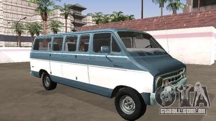 Dodge Sportsman B200 1972 Bus para GTA San Andreas