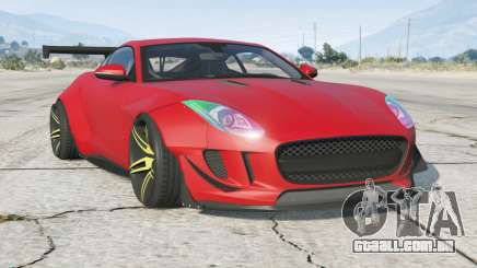 Jaguar F-Type R cupê 2015〡Wide Body Kit para GTA 5