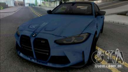 BMW M4 Competition 2021 para GTA San Andreas