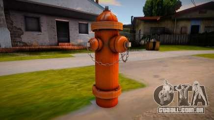 HQ Hydrant para GTA San Andreas
