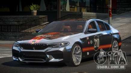 BMW M5 Competition xDrive AT S8 para GTA 4