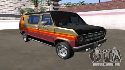 Ford Econoline Cruising Van 1976 para GTA San Andreas