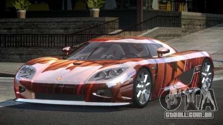 Koenigsegg CCX GST-R S5 para GTA 4