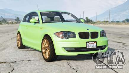 BMW 120i (E81) 2007〡add-on para GTA 5