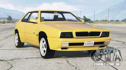 Maserati Ghibli (AM336) 1996〡add-on para GTA 5