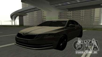 Skoda Octavia RUS Plates para GTA San Andreas