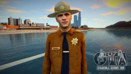 Xerife HD csher para GTA San Andreas