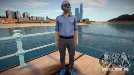 Skull man from GTA Online para GTA San Andreas