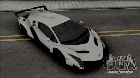 Lamborghini Veneno (SA Lights) para GTA San Andreas