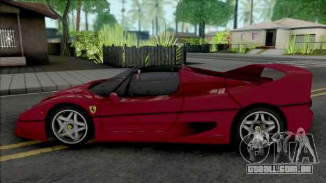 Ferrari F50 Spider (SA Lights) para GTA San Andreas