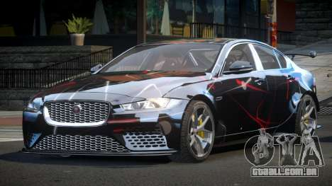 Jaguar XE GST S9 para GTA 4