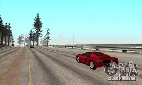 Ponte Rockshore para GTA San Andreas