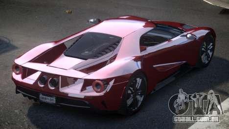 Ford GT GST para GTA 4