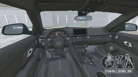 Toyota GR Supra (A90) 2019〡add-on v1.6