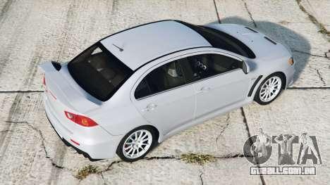 Mitsubishi Lancer Evolution X 2015〡add-on