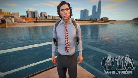 Adam Driver Detective Mod v2 para GTA San Andreas
