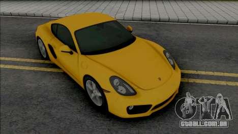 Porsche Cayman S (SA Lights) para GTA San Andreas