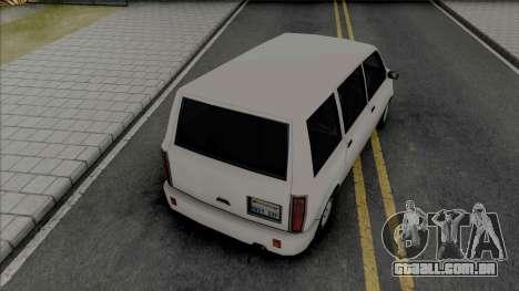 Moonbeam (Standard Van) para GTA San Andreas