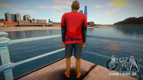 Pele de GTA V v11 para GTA San Andreas