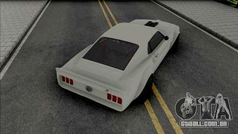 Ford Mustang RTR-X (SA Lights) para GTA San Andreas