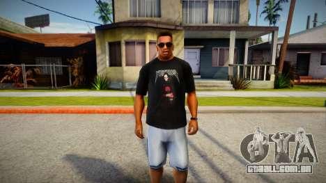 Yeezus T-Shirt para GTA San Andreas